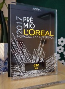 premio C2C Loreal inovacao 2017